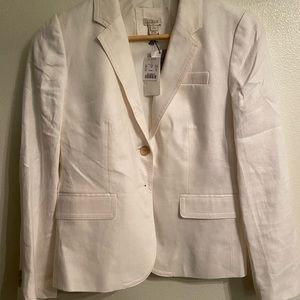 Off white Jcrew 3 button blazer